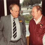 The late Jim McDonald GM4VEJ at an open day at the Focus Centre. Jim was Chairman of the club for many years and was awarded honorary membership. Greatly missed.