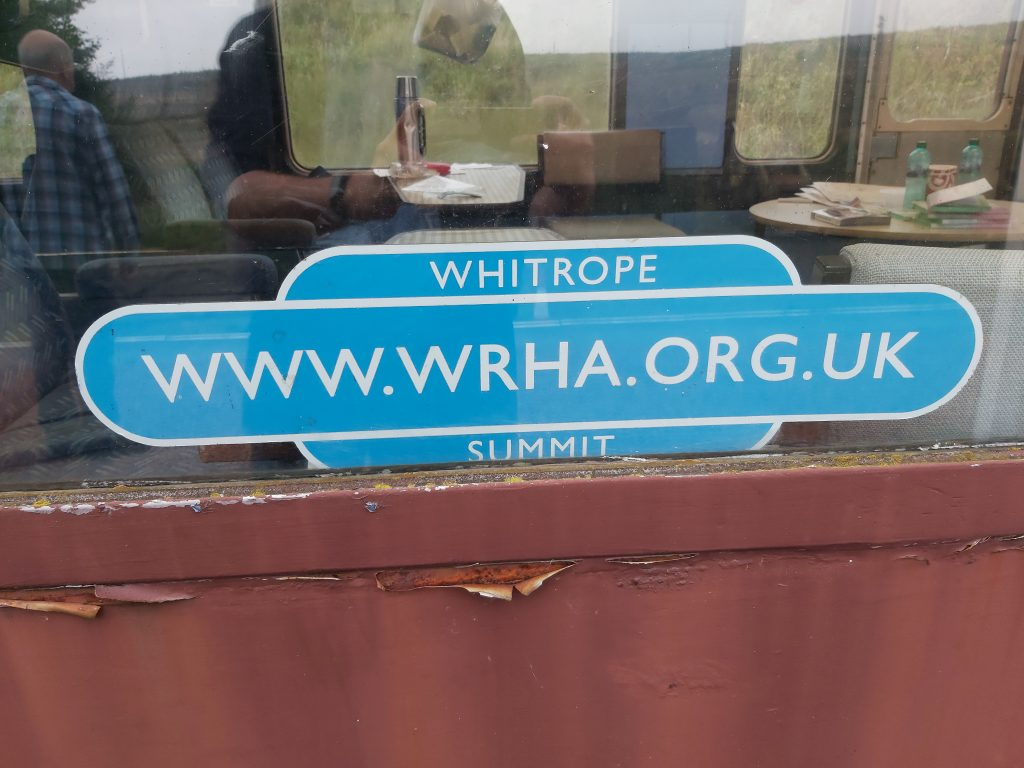 Sign Whitrope Summit www.wrha.org.uk